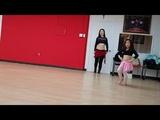 귀여움 주의!! 벨리 신동 남규리 벨리댄스 연습