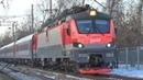 Электровоз ЭП20 053 с фирменным поездом №30 Москва Новороссийск