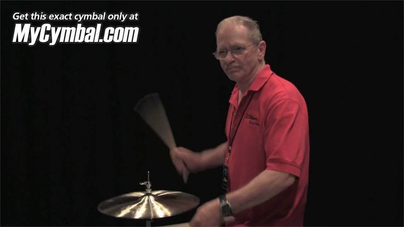 Zildjian 15 K Constantinople Prototype Hi Hat Cymbals - Played by Leon Chiapinni (KCP15HH-1050610P)