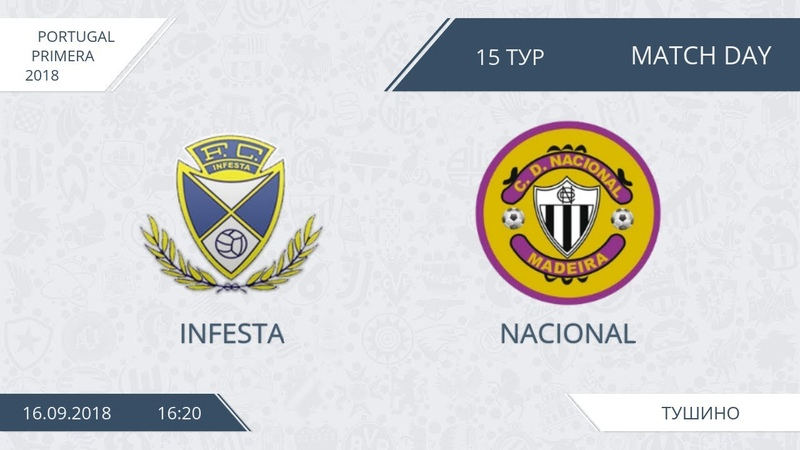 AFL18. Portugal. Primera. Day 15. Infesta - Nacional