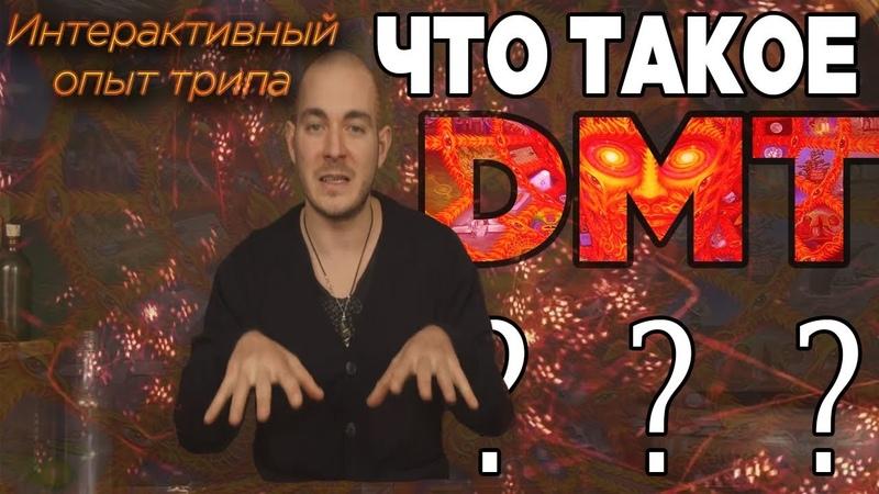 ОПИСАНИЕ DMT ТРИПА   Что такое ДМТ