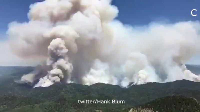 Wildfire in Durango, Colorado, USA, june 10, 2018 | Лесной пожар в Колорадо, США, 10.06.2018