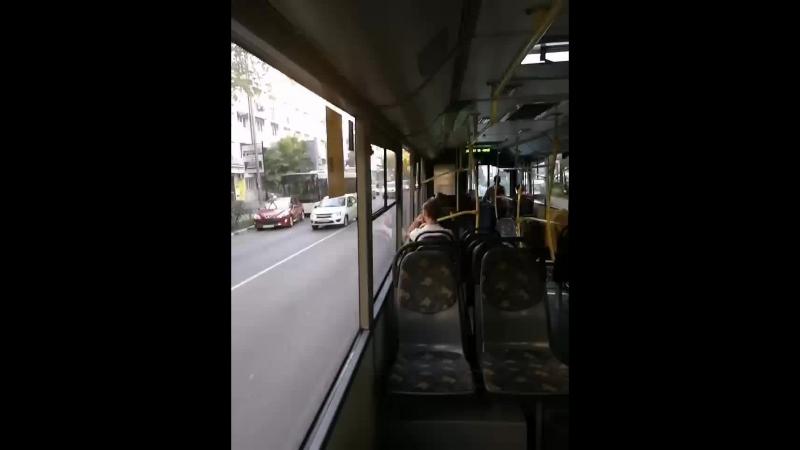 Сочиавтотранс где ваше совесть, почему у вас поломанные автобусы выходят на рейс, все крехтит