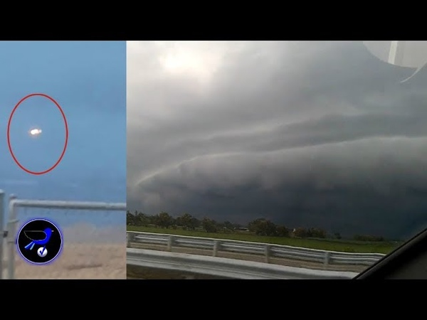 Mysterious cloud circular appearance in the sky over India! Sep 23,2018