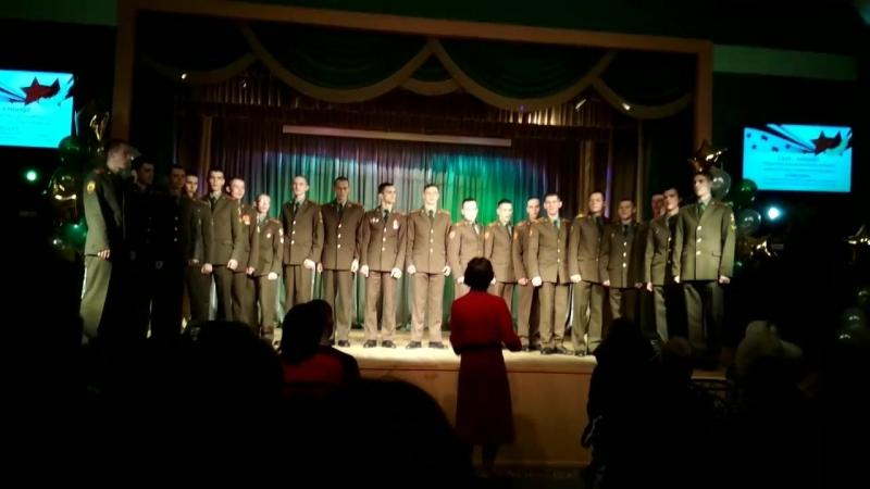 Голосъ гвардии - Солдатушки. Гала-концерт открытого муниципального конкурса исполнителей патриотической песни