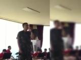 [290618] Выступление Сонгю для демобилизованных солдат (cr. m.seunghyun91)