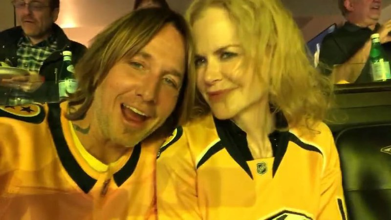 "Keith Urban on Instagram: ""WE LOVE YOU PREDS! GOOD LUCK IN COLORADO!! - KU StandWithUs @predsnhl @nicolekidman"""