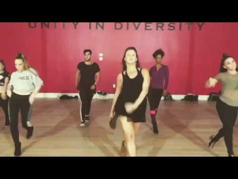 Casey Rosenberg Heels Choreography to Lady Marmalade at Millennium Dance Complex Miami