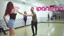 Maxim Chistokletov and Evgenia Stecenko. Zouk Demo. Ipanema Dance Studio (Mulher Perfeita)