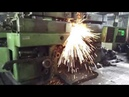 Сварка цепи 22х120 на автомате KSH 500D на ЧАО ВИСТЕК