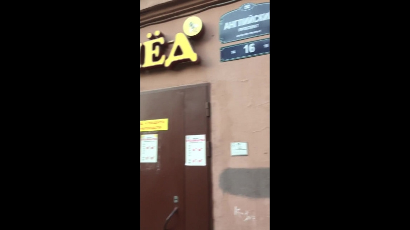Тараканы ползают по прилавкам магазина Пятёрочка.СПб.Английский дом 16