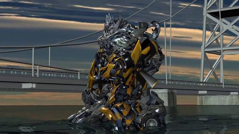 Transformers 5: Bumblebee vs Megatron fight - Mortal Kombat
