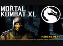 Mortal Kombat XL / MKXL / Scorpion / Скорпион орет от удара в яичницу
