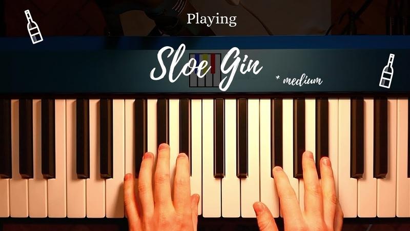 Sloe Gin | Joe Bonamassa | Piano Tutorial | Tamara Ogen