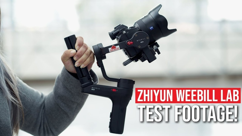 Zhiyun WEEBILL LAB TEST FOOTAGE CRANE 3 FIRST IMPRESSIONS NEW GIMBALS for Sony Canon Panasonic