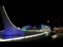Олимпийский Парк в Сочи. 14.08.2018г. Шоу поющих танцующих фонтанов. Часть 1