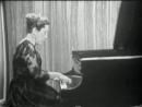 Rosalyn Tureck plays Prelude and Fugue in A Minor BWV 895