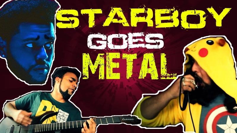 The Weeknd - Starboy Cover [Punk Goes Pop] - Metal Cover 2016 | Bloodywood