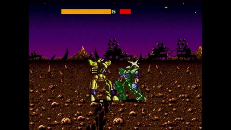 Cyborg Justice ... (Sega Genesis)