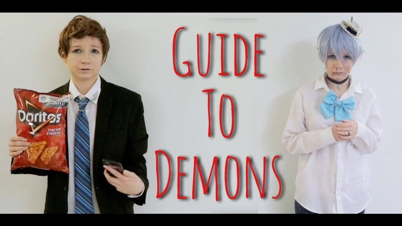 Mabel and Dipper Gleeful 's Guide to Demons [ Reverse Falls Cosplay ]