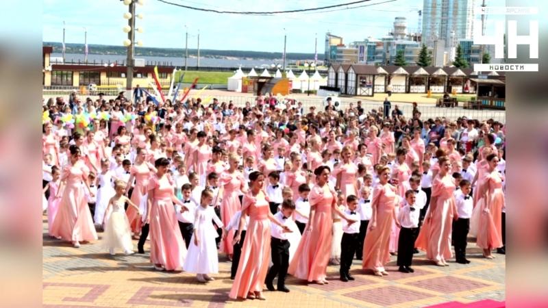 Первый выпускной: для чебоксарских дошколят прошел бал на Красной площади.