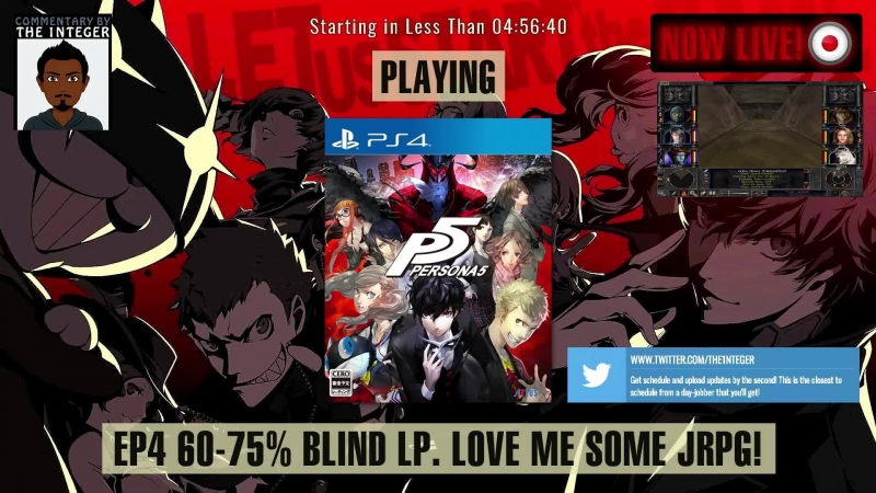 JRPG sexiness in Japan with Persona 5! [60% Blind. No Tips, Spoilers or Backseating thanks!] - Ep 4 [English Speaking Only Str