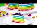 Этот роскошный десерт из желе готовится аж в 10 этапов Красота