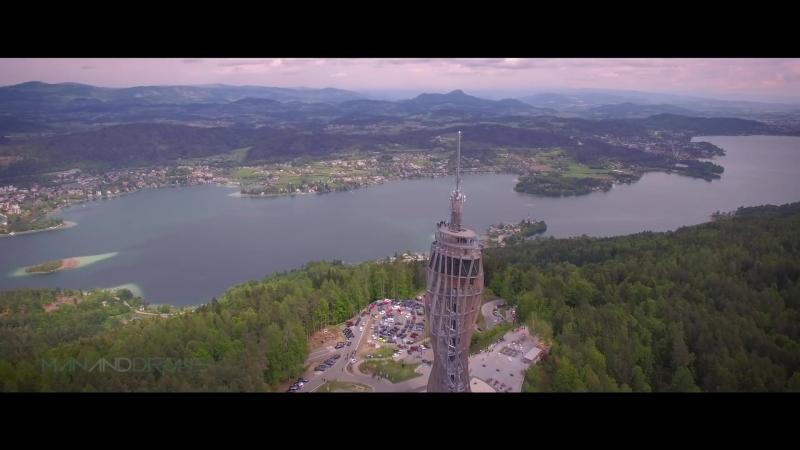 Austria Drone Footage, Road Trip Worthersee 2016 (4K)
