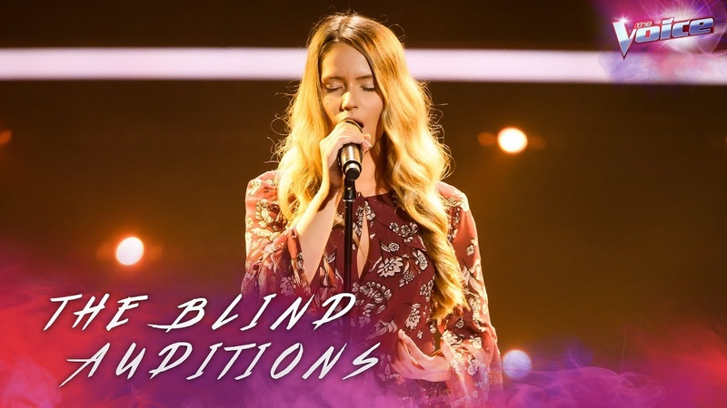 Blind Audition Somer Smith sings His Eye Is On The Sparrow The Voice Australia 2018