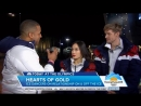 Madison Chock and Evan Bates Today Show Olympic Interview 2 10 18