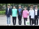 [Nine Stars] 눈부신 아침 햇살 같은 유앤비 UNB 뮤직뱅크 출근길