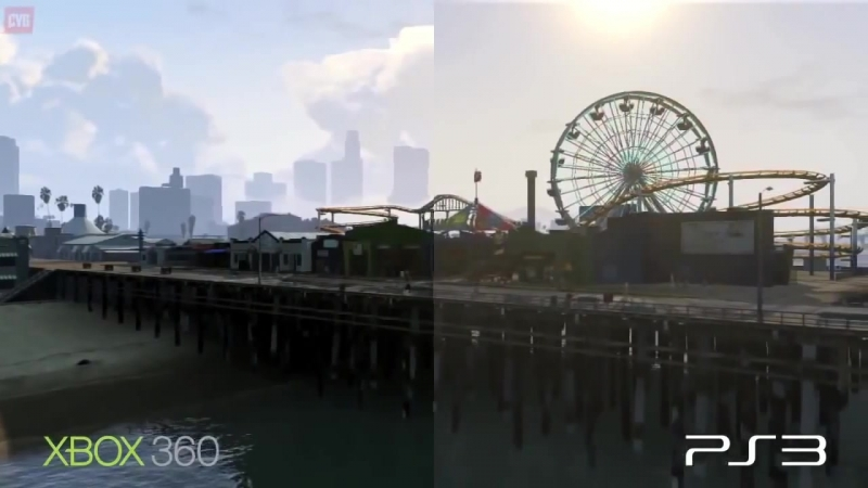 [TheWild] GTA 5 - Сравнение игры на PS3 vs Xbox 360