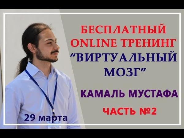 Камаль Мустафа 29 03 2018 Вебинар Виртуальный мозг Часть 2
