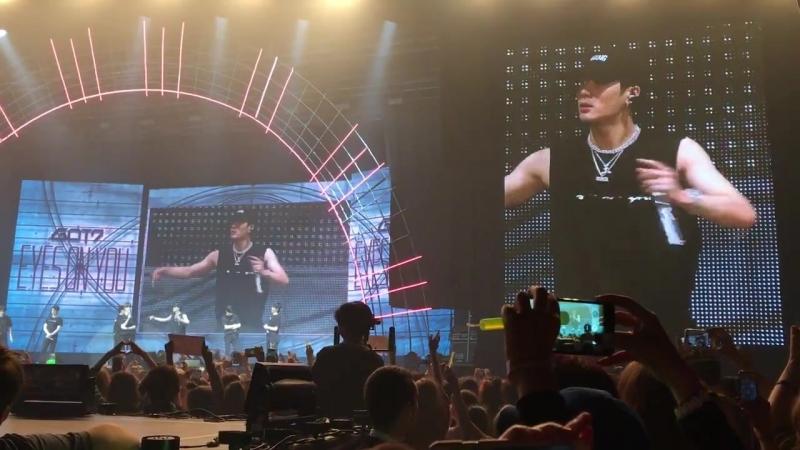 JB говорит на русском concert in Moscow (GOT7)