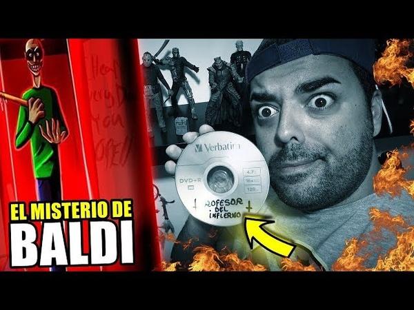 ¿ QUE OCULTA el CD MISTERIOSO del PROFESOR MALIGNO ? 😈 Baldi's Basic In Education en la VIDA REAL
