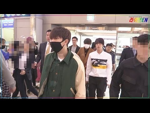 [liveen TV] 방탄소년단 (BTS), 오랜만에 보는 아미(ARMY)들에게 반갑게... (김포공항)