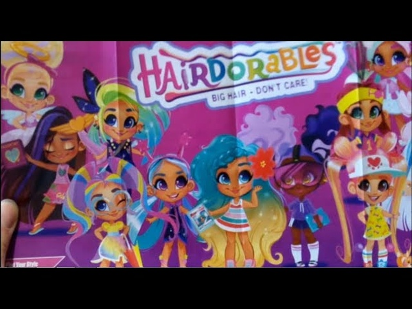 КУКЛА Hairdorables РАСПАКОВКА Приз от канала Tima Life Show
