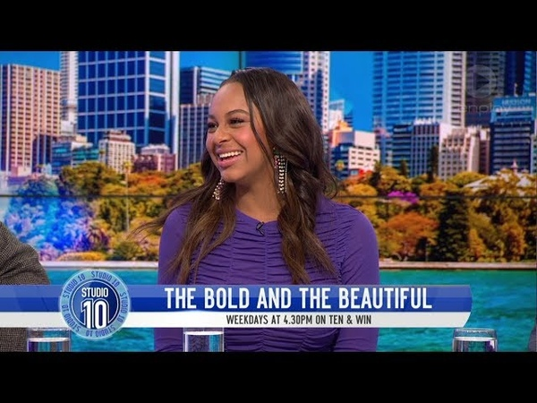 Nia Sioux Dishes On Joining 'The Bold The Beautiful' | Studio 10