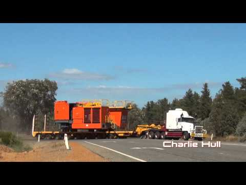 Heavy Haulage Regal Transport Charlie Hull