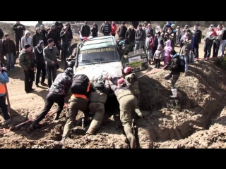 OffRoad 4х4. Rainforest Challenge West Russia 2014 (Spring) Extreme 4x4