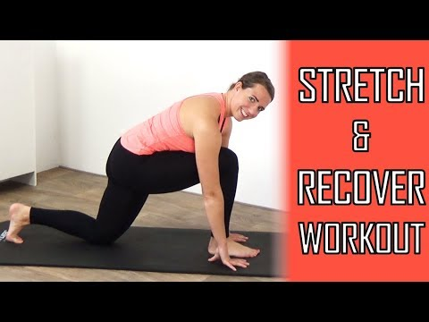 10 Minute Pilates Recovery Workout – Stretching Exercises for Flexibility and Recovery – At Home