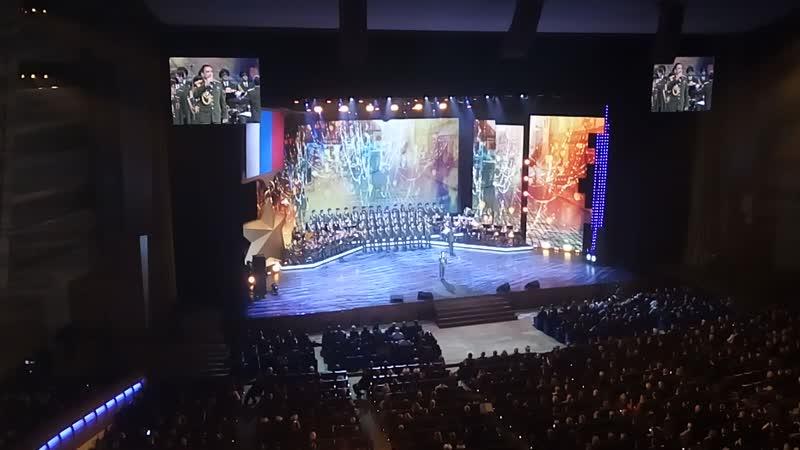 Национальная гвардия РФ. Мы на концерте в Кремле 9.12.18