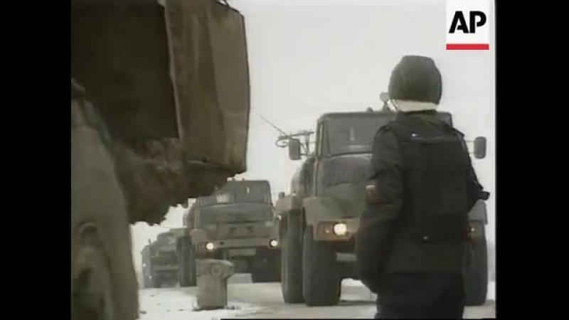 Chechnya - Russians Grozny_