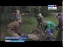 ГТРК СЛАВИЯ Реконструкция ВОВ в лагере Остров героев 22 06 18