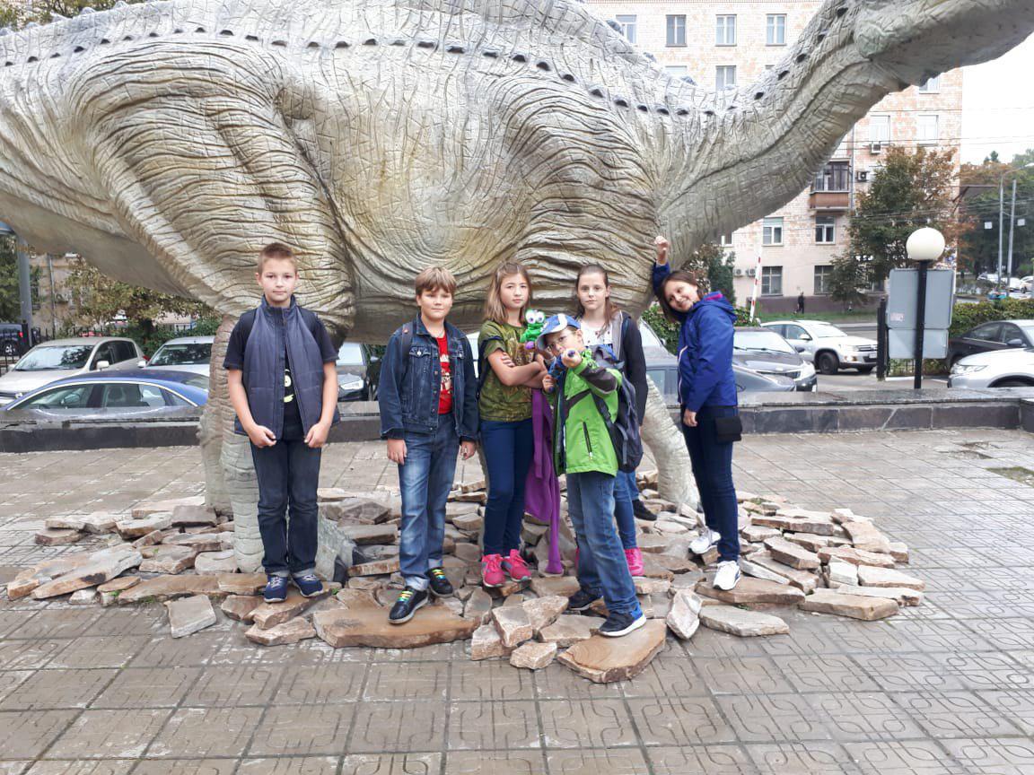 Школьники из Лианозова посетили Дарвиновский музей