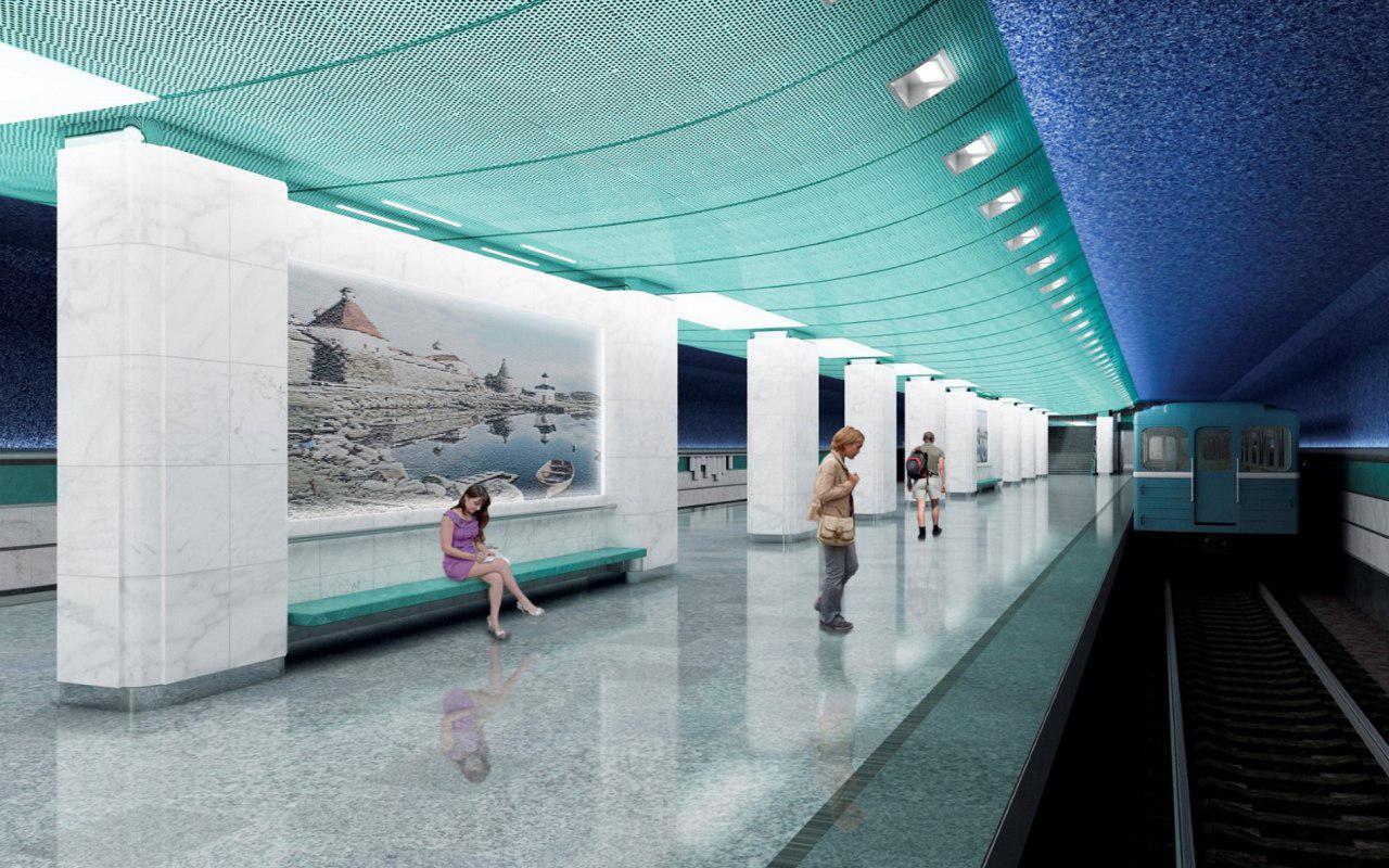 Открыть станцию метро «Беломорская» планируют в 2018 году