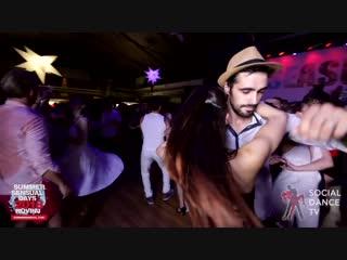 Zoran & sara panero - bachata social dancing   summer sensual days 2018