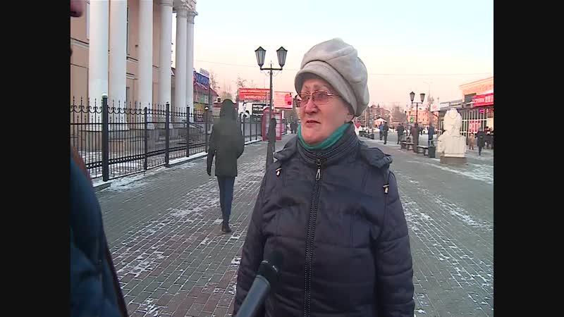 Мнение народа, о решении Владимира Путина баллотироваться на новый срок.