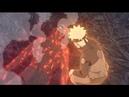 Наруто спасает Гая от смерти