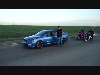 Злая Skoda Octavia RS